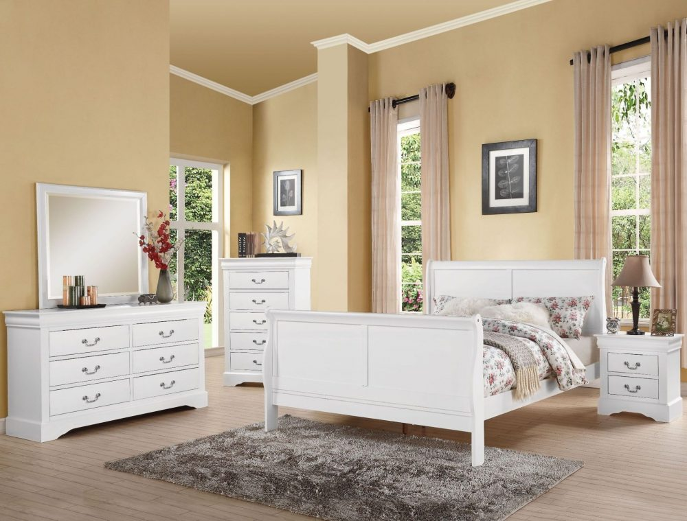 Louis Philippe Sleigh Bedroom Set Closeouts in Pittsburgh
