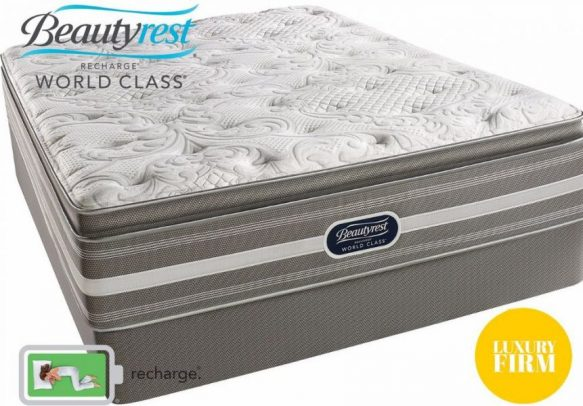 Beautyrest World Class Elbrus Luxury Firm Pillow Top Closeouts in Pittsburgh