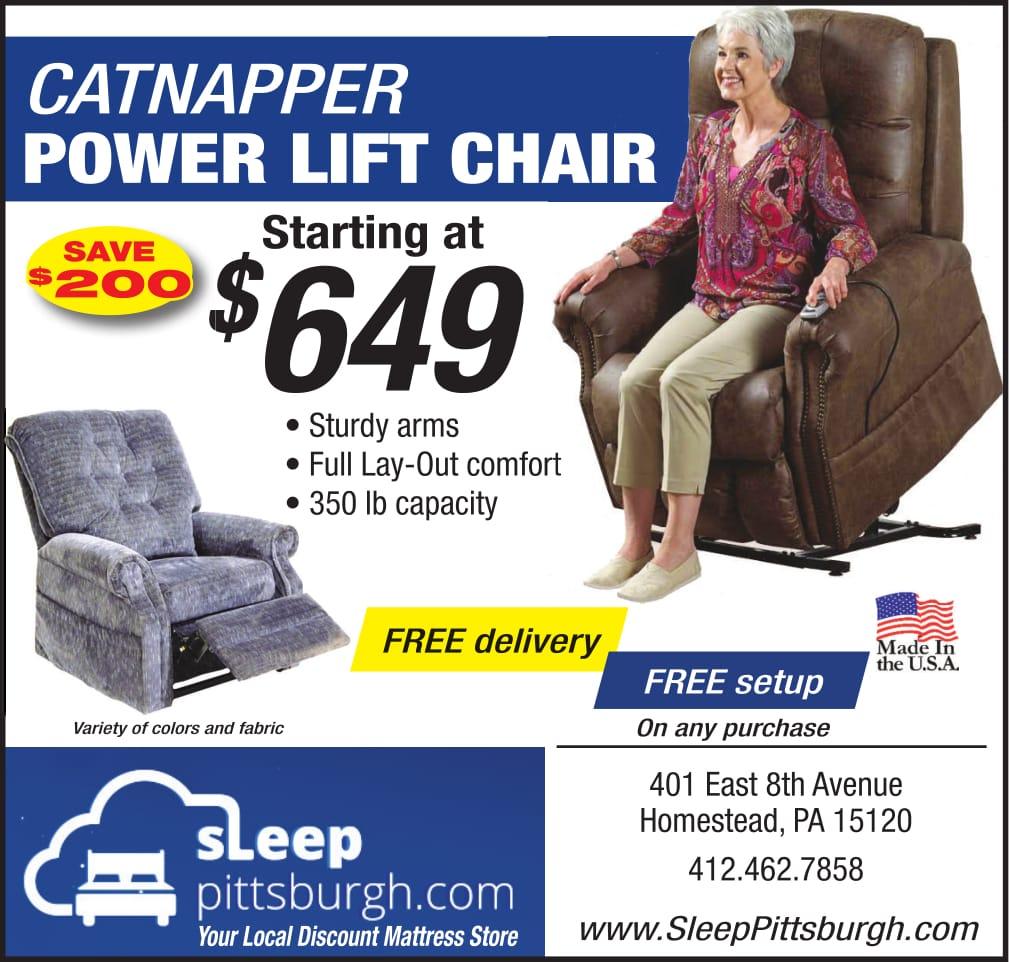 catnapper power lift chari sale at Sleep Pittsburgh