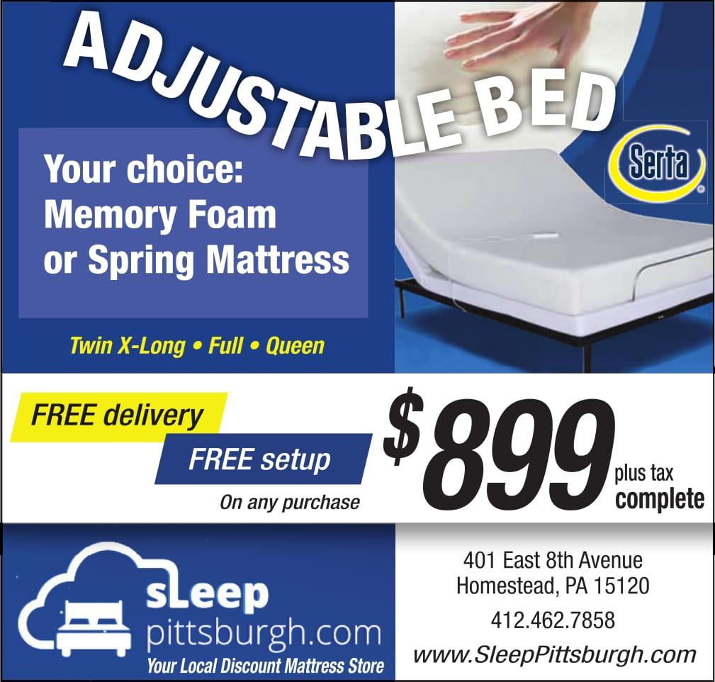 sleep pittsburgh adjustable bed sale september 2017
