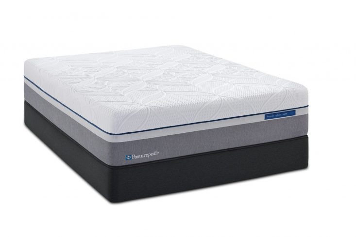 Posturepedic Hybrid Copper Plush Queen Mattress and Boxspring Closeouts in Pittsburgh
