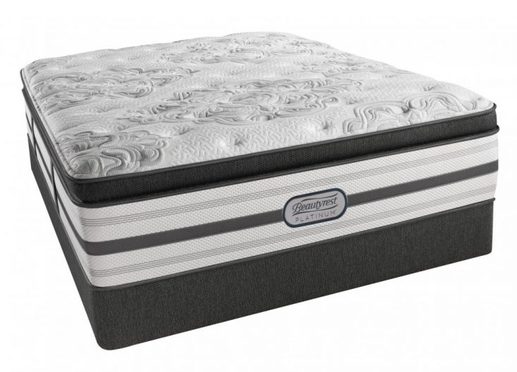 Beautyrest Platinum Romeo Luxry Firm Queen Pillow Top Mattress Set Closeouts in Pittsburgh