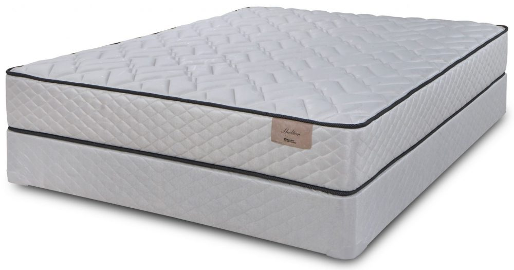 Symbol Shelton Firm Queen Mattress & Boxspring Closeouts in Pittsburgh