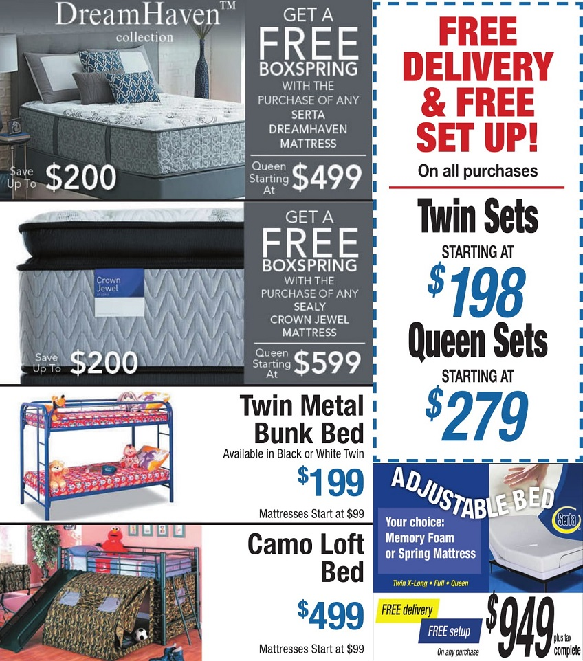 mattress sale october 2018