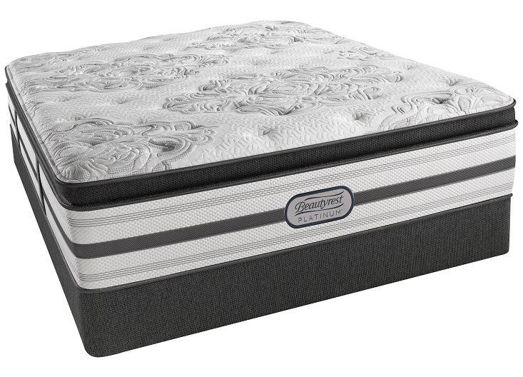 Beautyrest Platinum Sun Chaser Queen Luxury Firm Pillow Top Mattress Set Closeouts in Pittsburgh