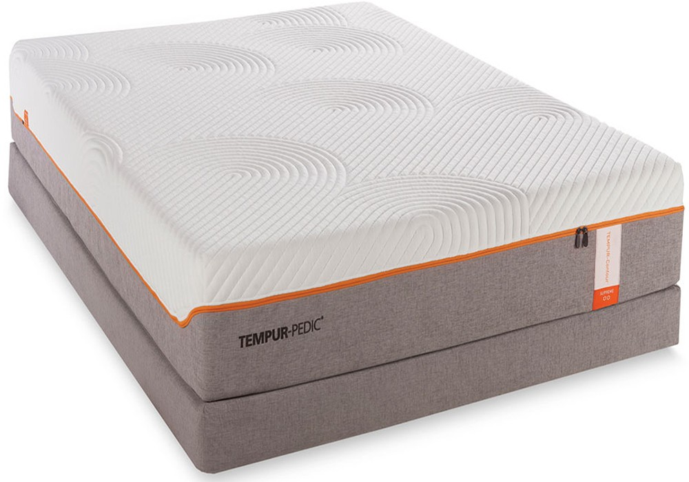 Tempurpedic Contour Supreme Queen Mattress and Boxspring Closeouts in Pittsburgh