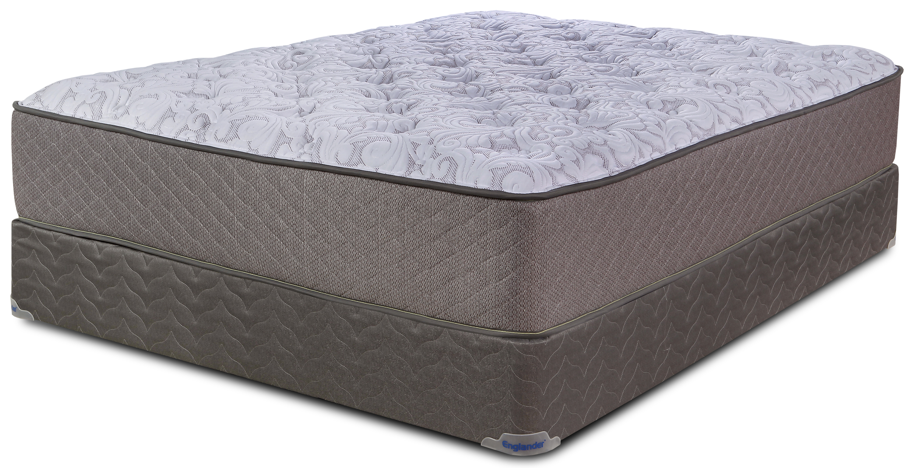 Englander Turin Plush Full Mattress and Boxspring Closeouts in Pittsburgh