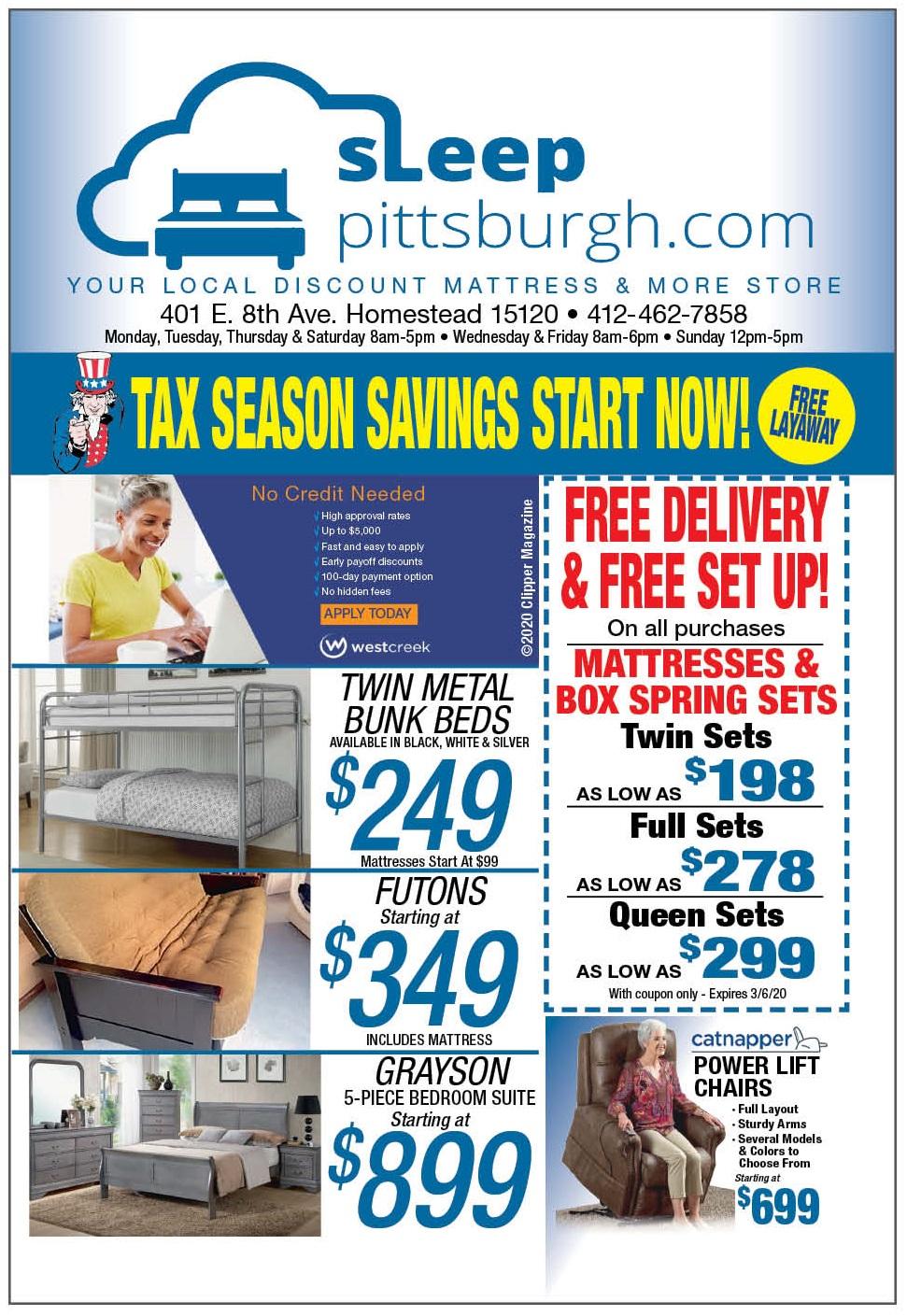 Tax Refund Mattress Sale