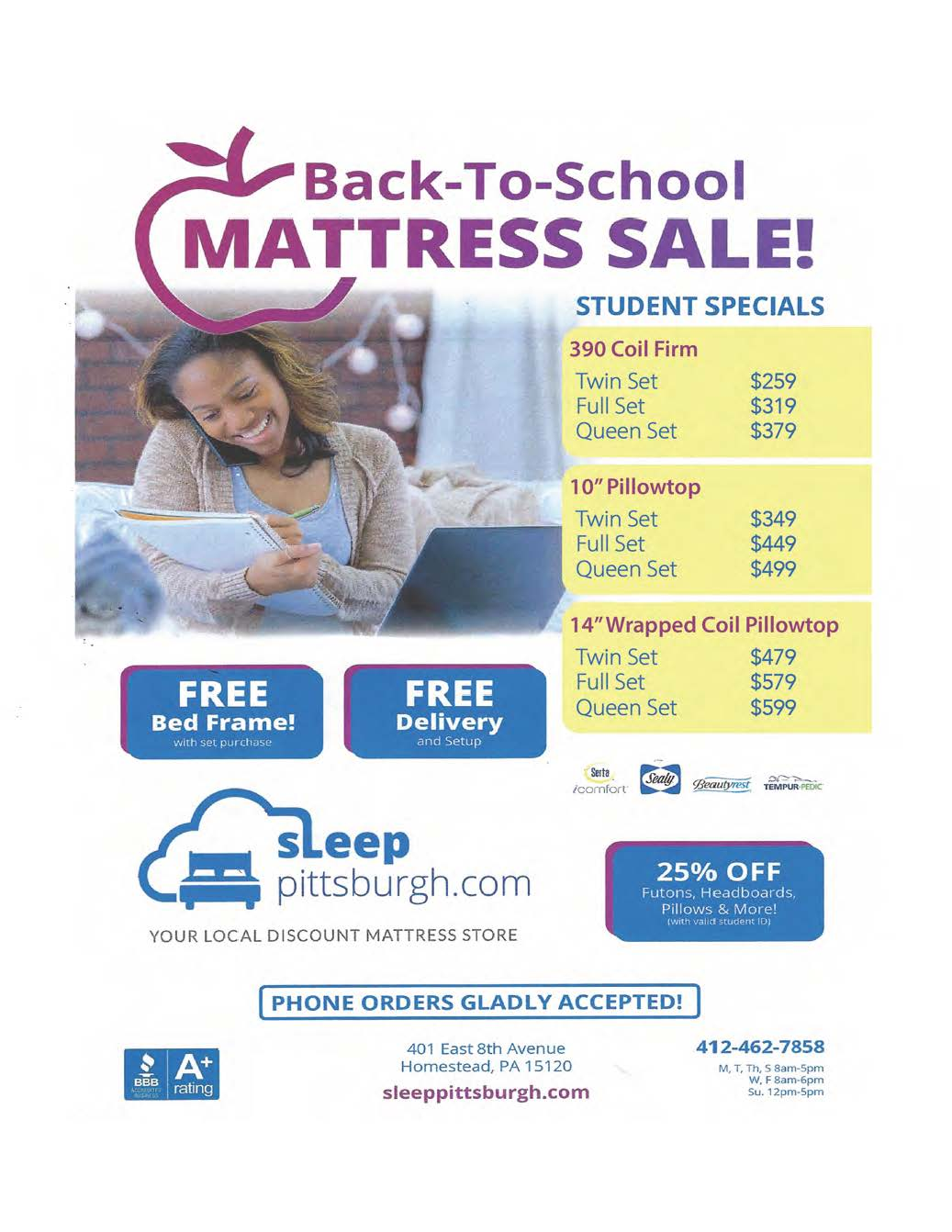 Student Mattress Sale